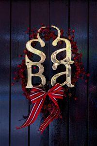 Saba's Christmas Opening Hours