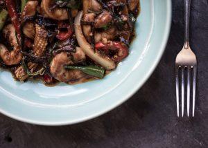 Recipe Of The Month - Phad Nam Prik Pao