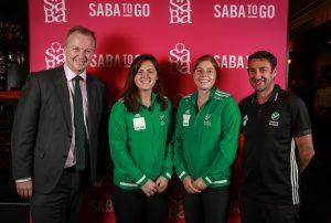 Saba hosts Irish Senior Women's Hockey Team 'Road To Tokyo' Lunch